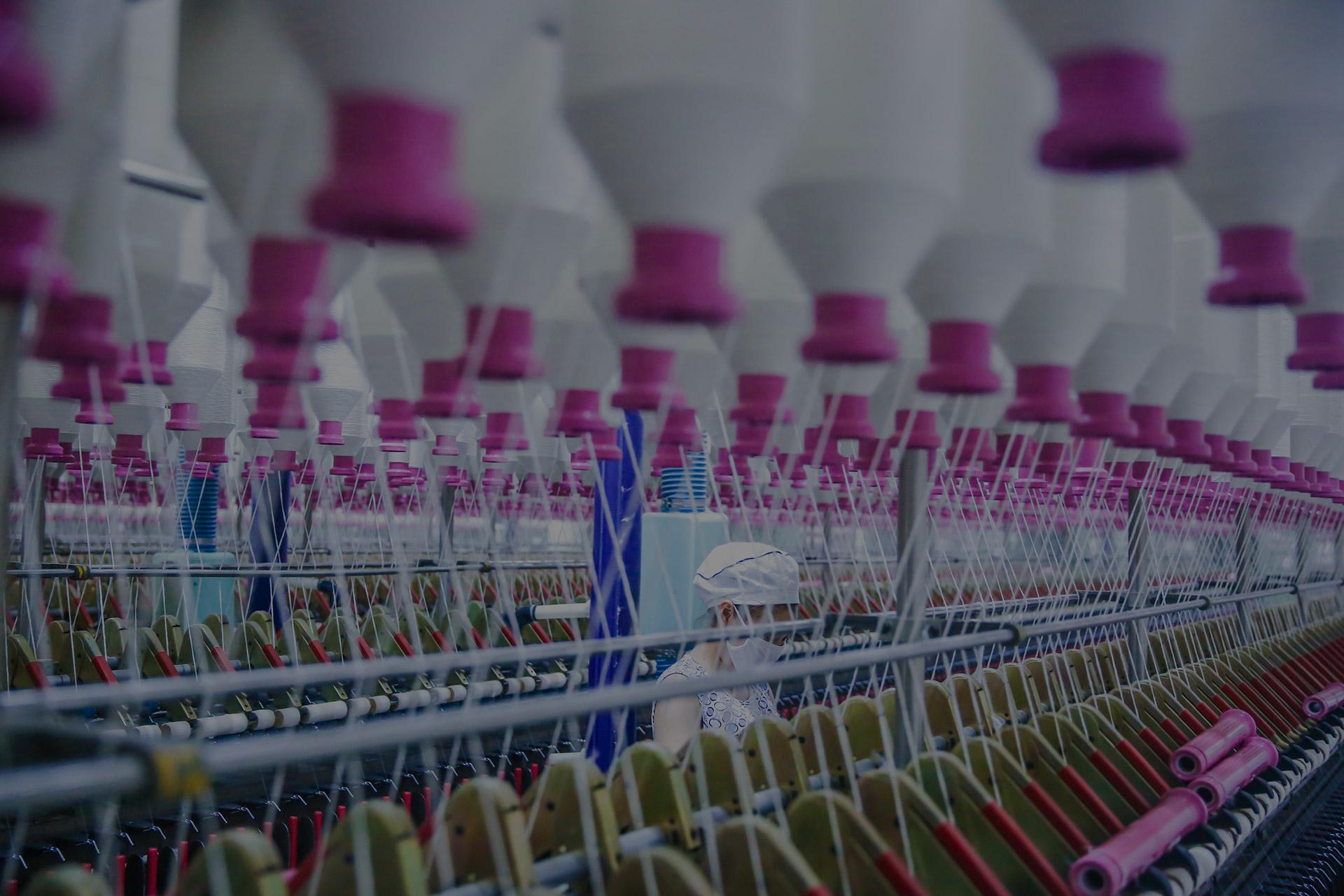 Textile manufacturing equipment